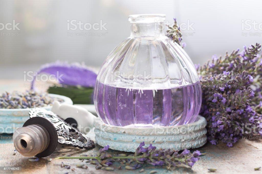 Nature cosmetics, handmade preparation of essential oils, parfums,...