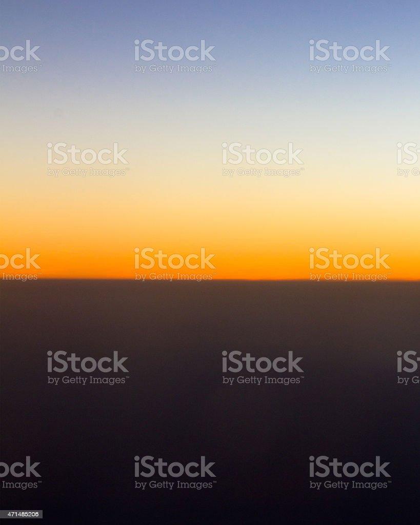 Nature Horizon stock photo