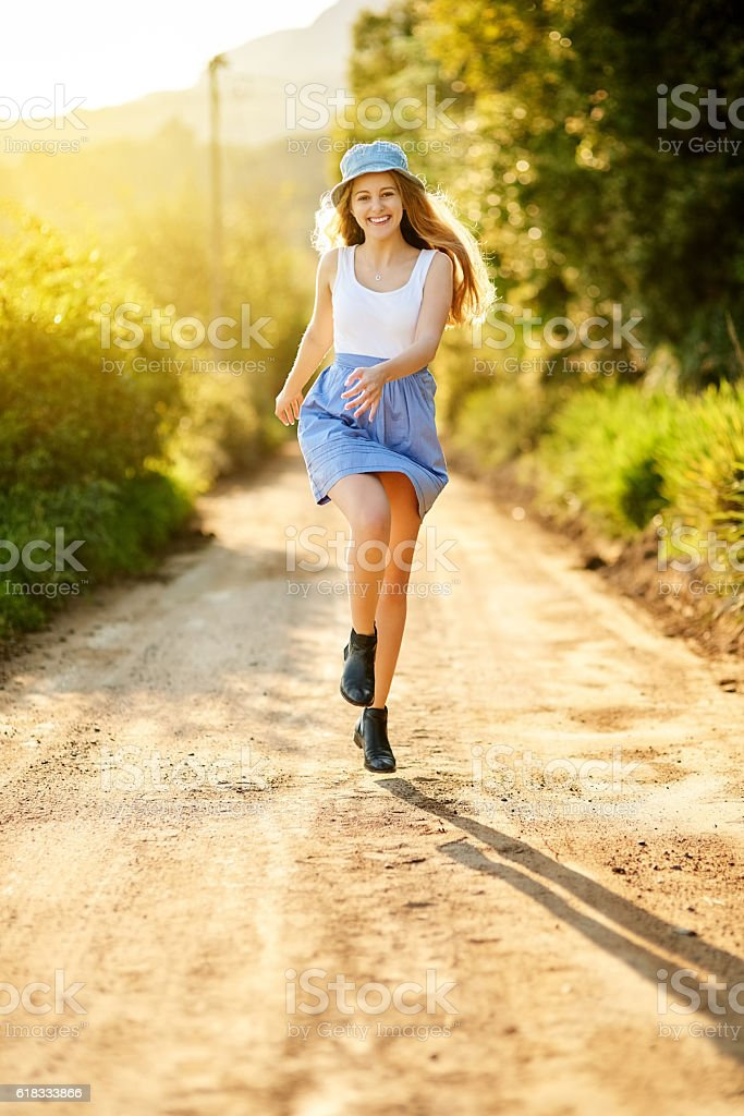 Nature improves your vitality stock photo