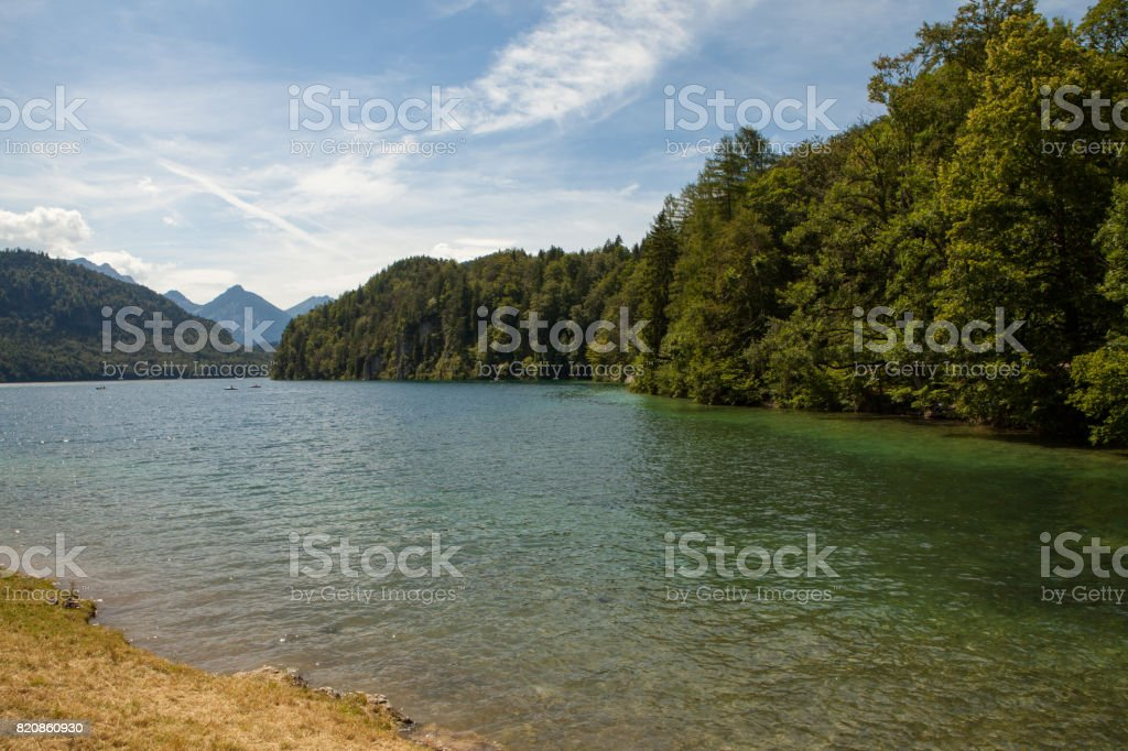 Natur in Bavaria stock photo
