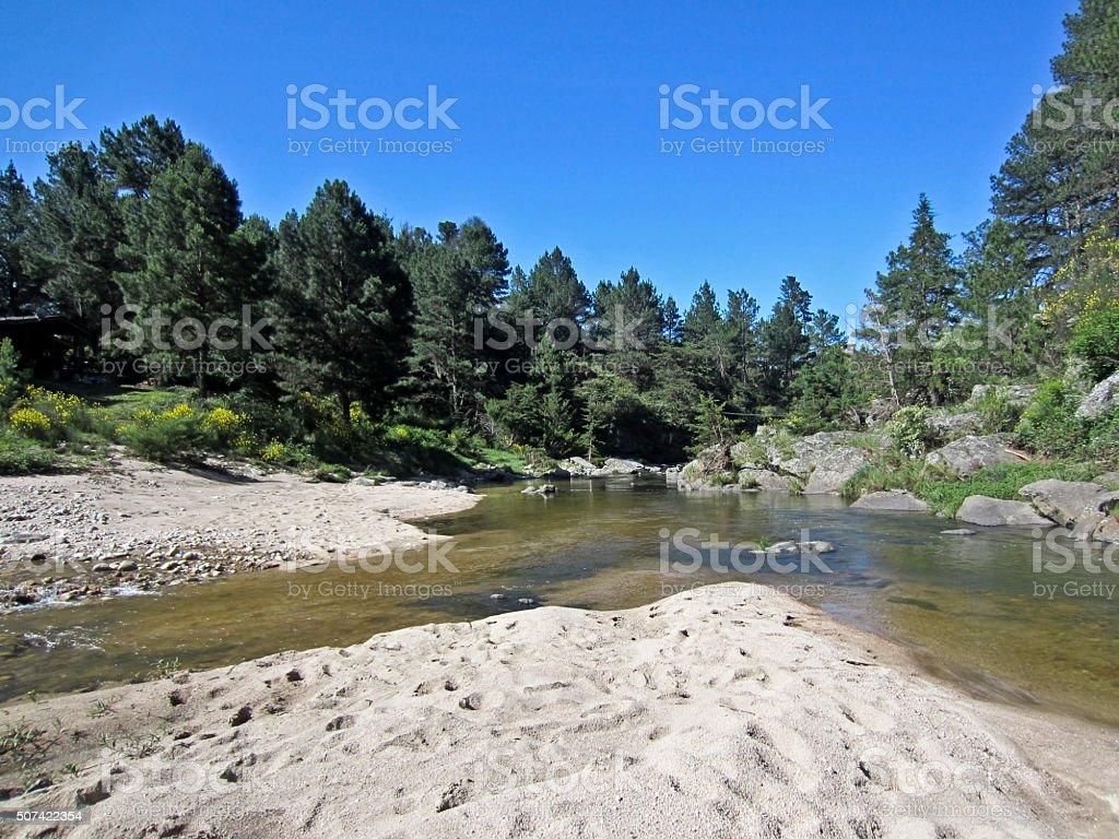 Nature in Cordoba stock photo