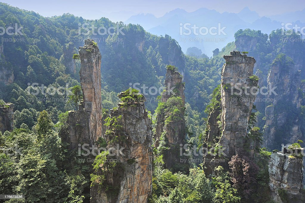 Nature landscape in China royalty-free stock photo