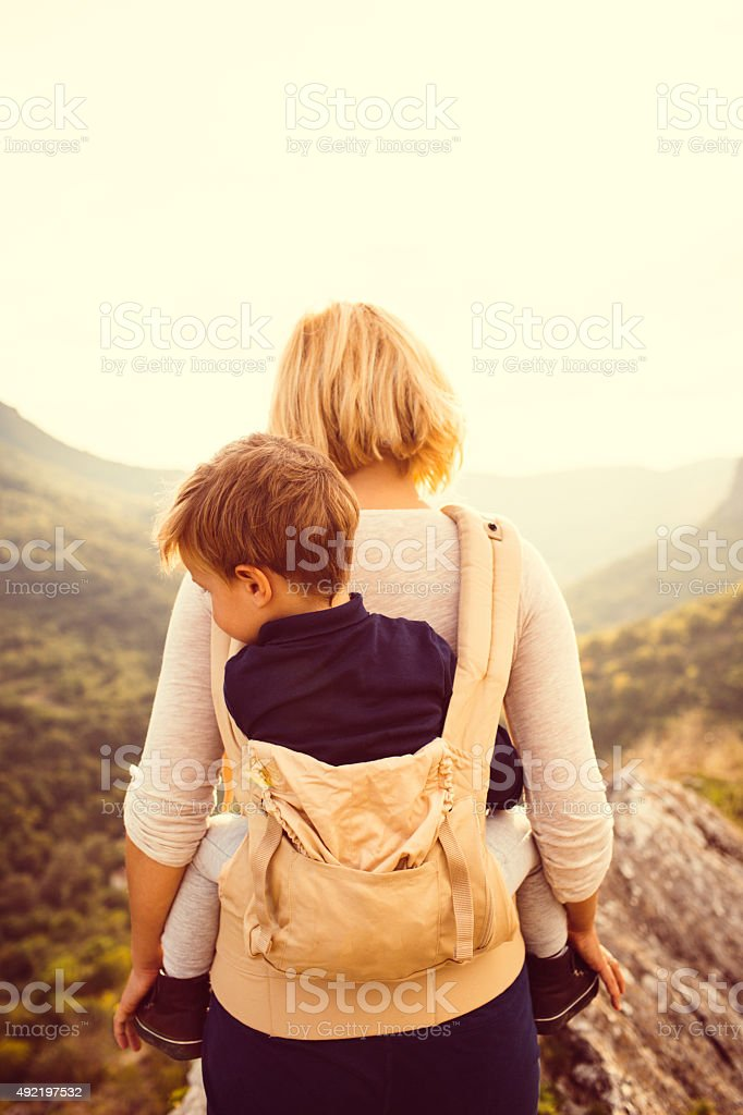 Nature lovers stock photo