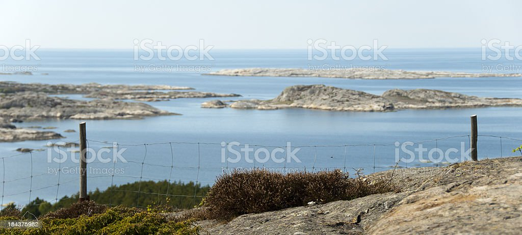 Nature of koster islands stock photo