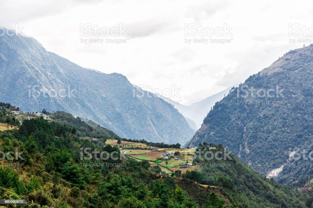 Natur des Himalaya - Lizenzfrei Asien Stock-Foto