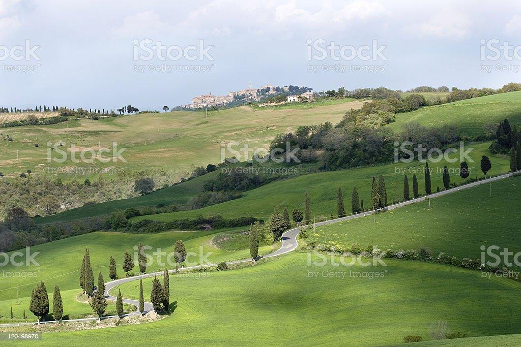 nature of tuscany royalty-free stock photo