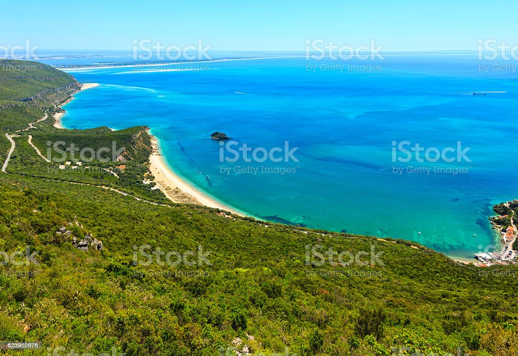 Nature Park of Arrabida, Portugal. – Foto