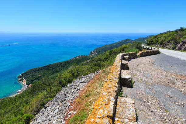 nature park of arrabida, portugal. - setubal imagens e fotografias de stock