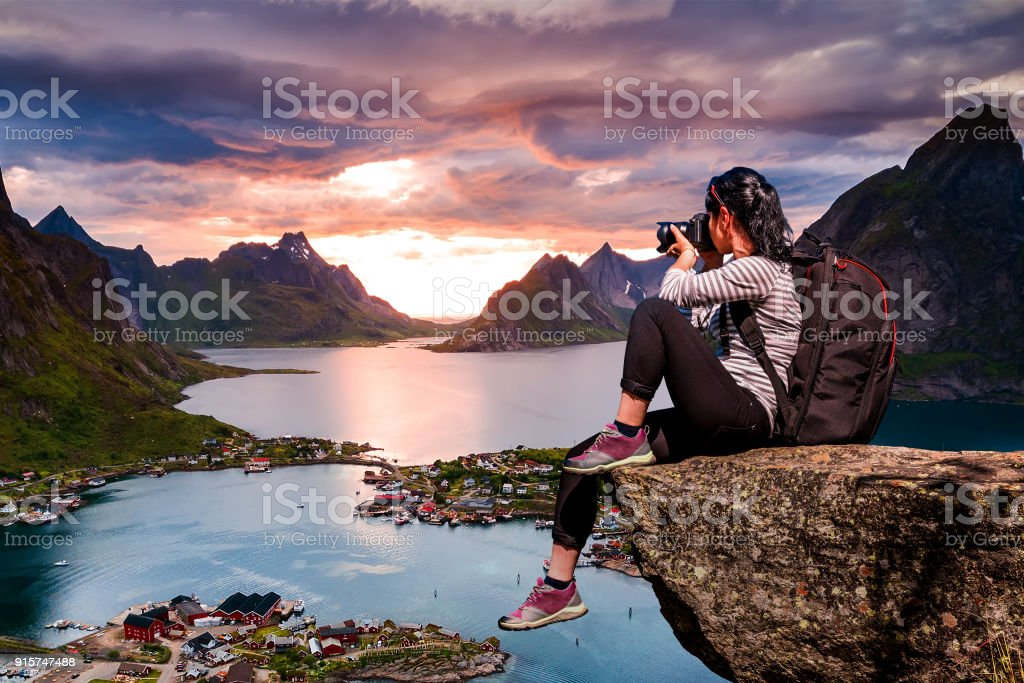 Natur Fotograf Norwegen Lofoten Inselgruppe. – Foto