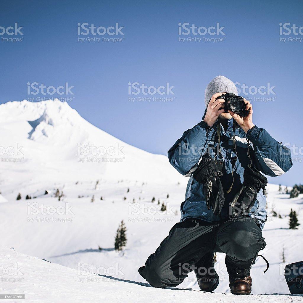 Nature Photographer royalty-free stock photo