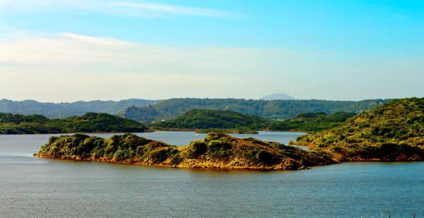 Nature Reserve Albufera des Grau stock photo