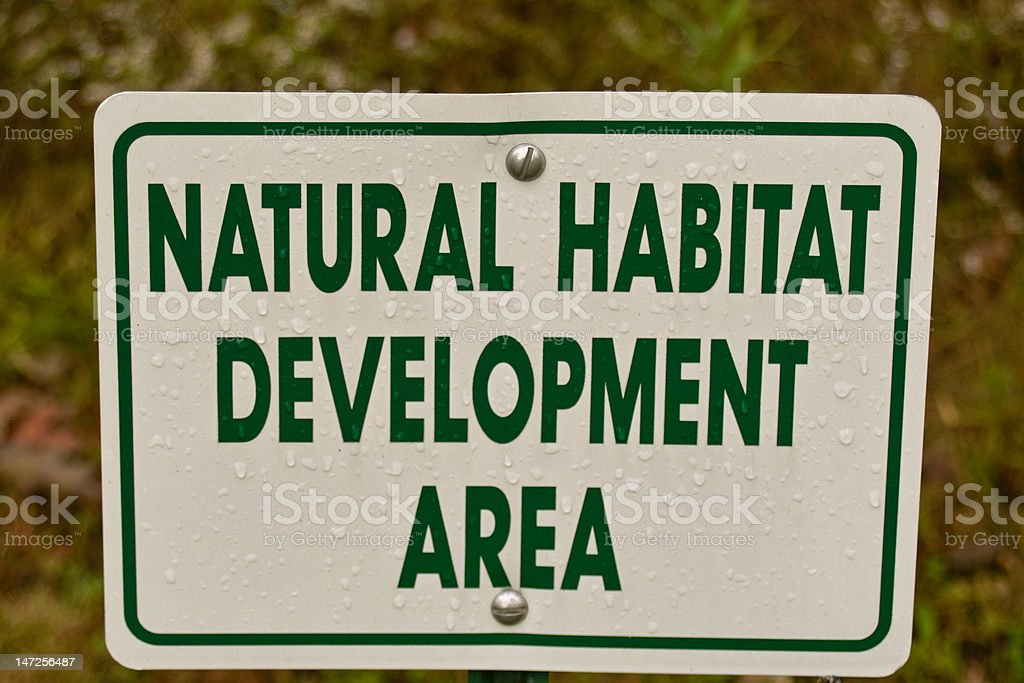 Nature Sign royalty-free stock photo