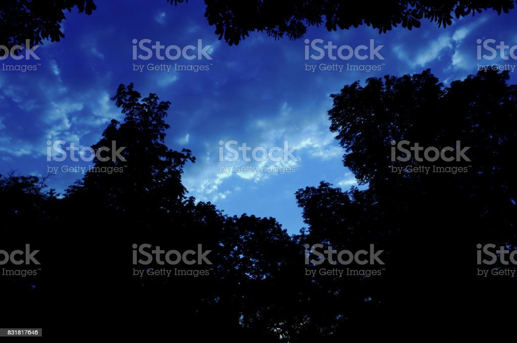 Nature sky background stock photo