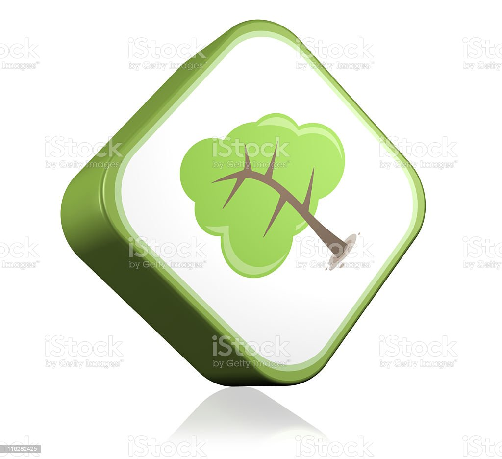 Nature tree Icon royalty-free stock photo