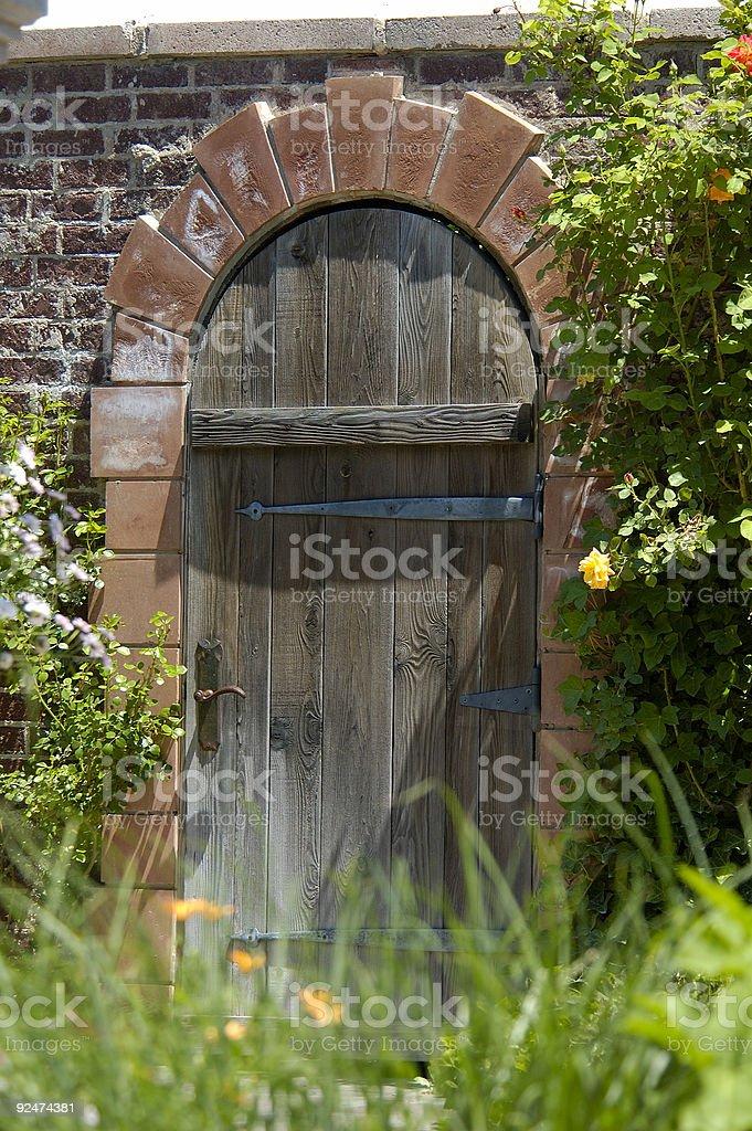 Natures Doorway royalty-free stock photo