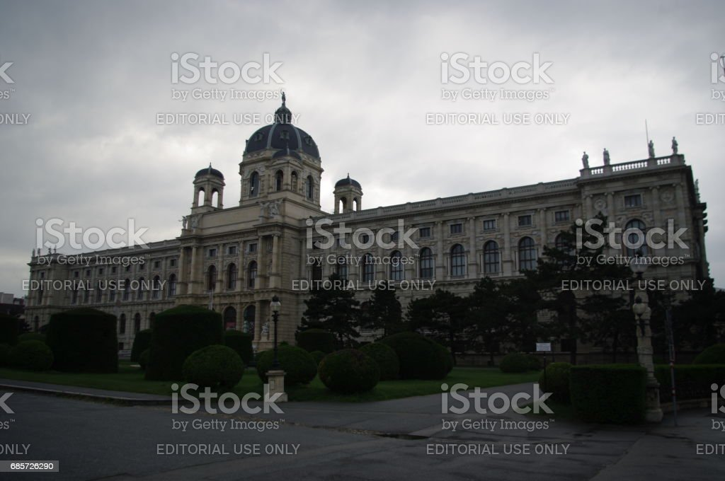 Naturhistorisches Museum (Natural History Museum) stock photo