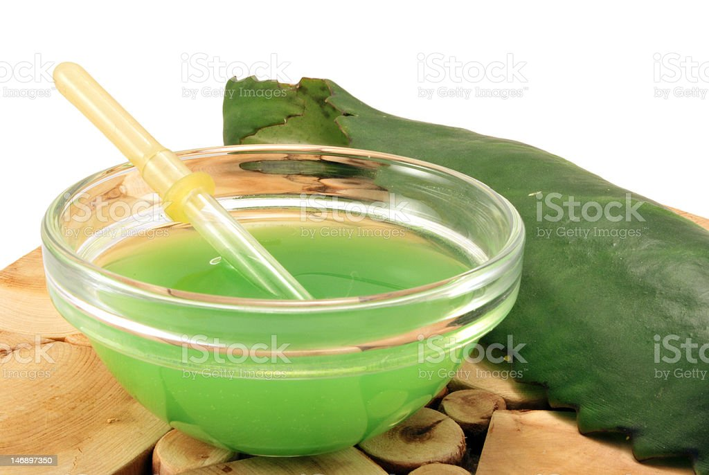 Naturist treatment of rhinitis stock photo