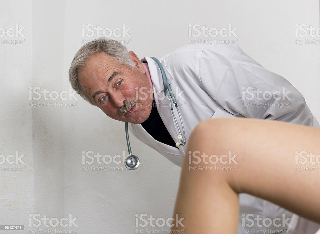 Naughty Doctor royalty-free stock photo