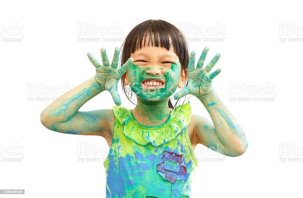 naughty paint stock photo
