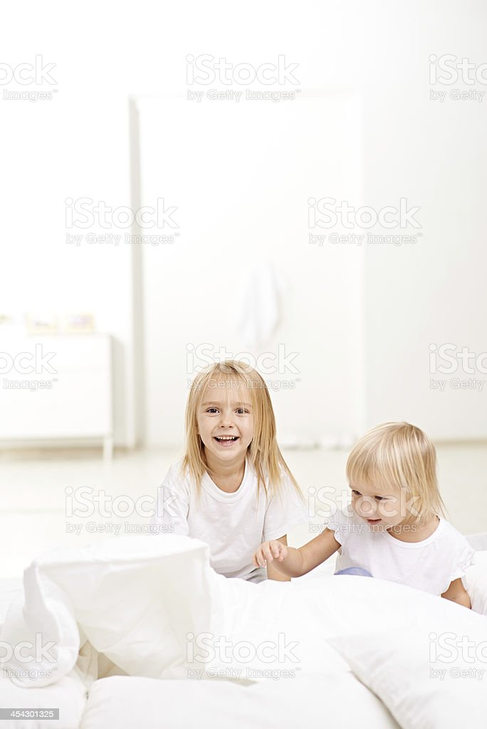 Naughty Sisters Stock Image
