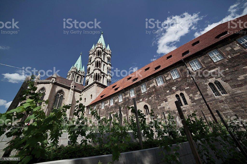 Naumburg Dom stock photo