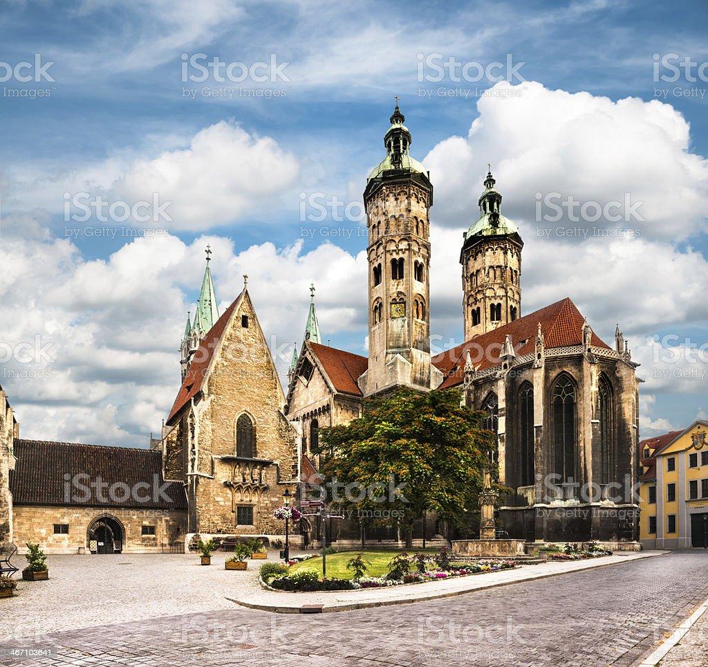 Naumburg Cathedral stock photo