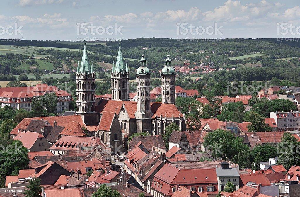 Naumburg, Germany stock photo