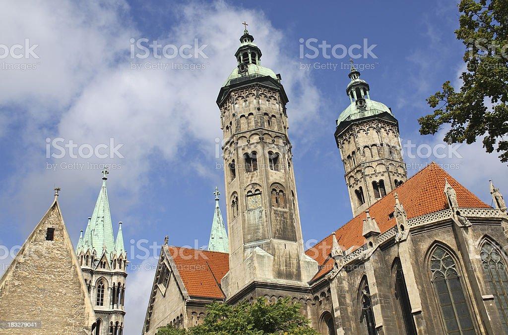 Naumburg (Germany) stock photo