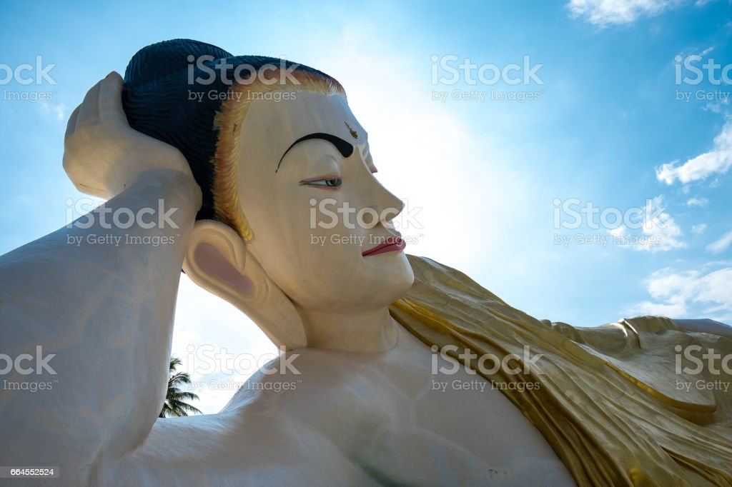 Naung Daw Gyi Mya Tha Lyaung royalty-free stock photo
