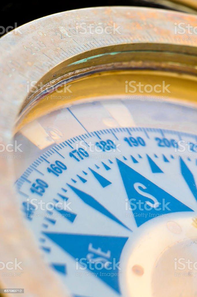 Nautical Compass stock photo