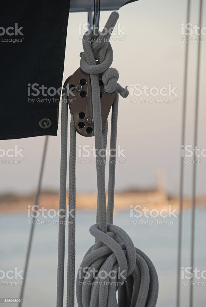 Nautical Details royalty free stockfoto
