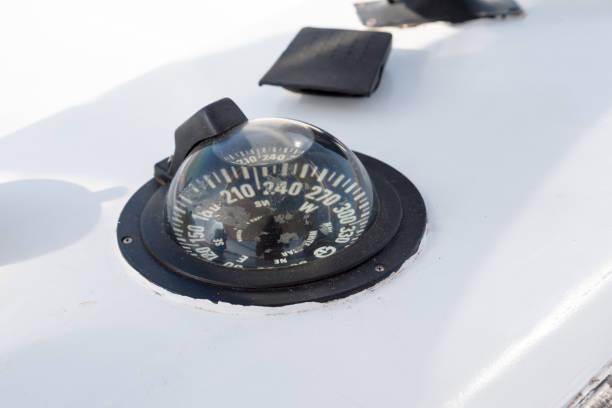 Nautical instruments motor boat – zdjęcie