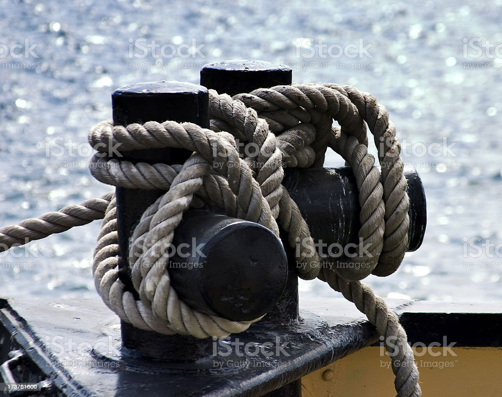 Nautical Ropes royalty-free stock photo