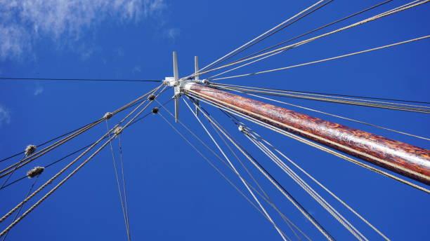 Nautical Ship Skys stock photo