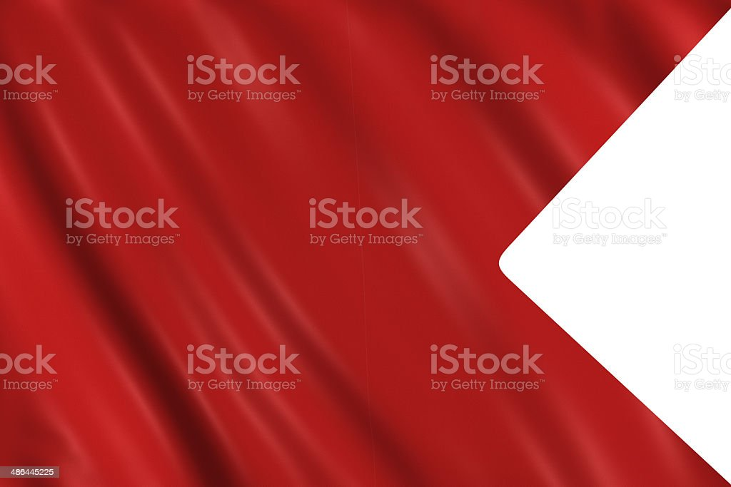 Nautical Signal Flag - Letter B stock photo
