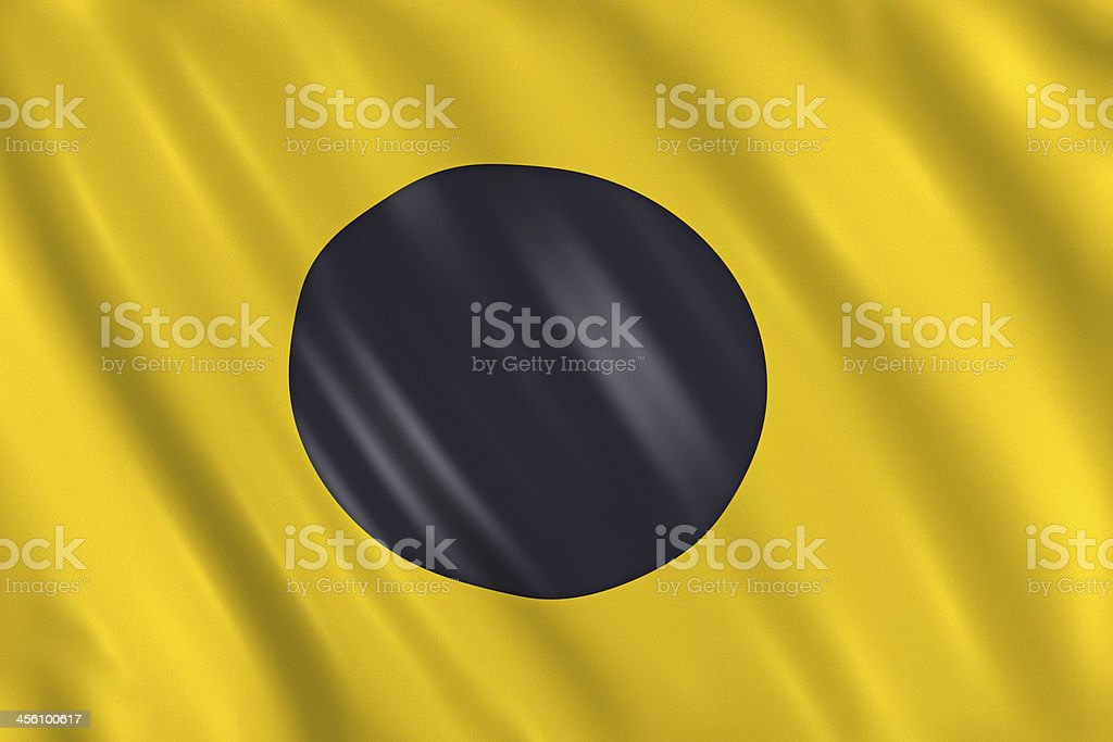 Nautical Signal Flag - Letter I stock photo