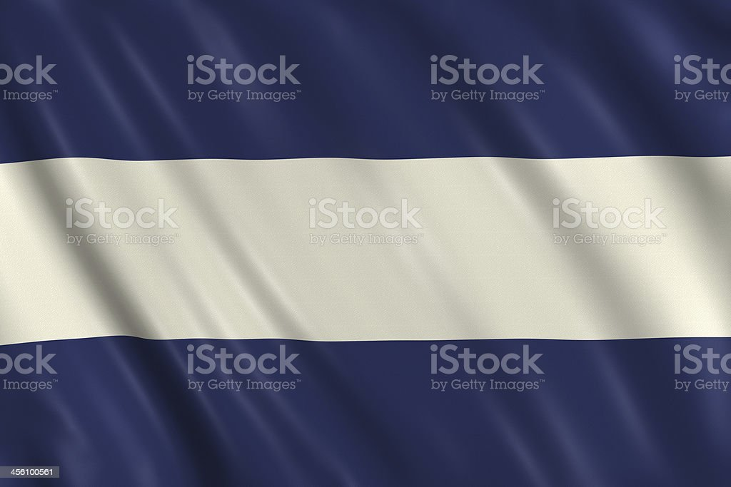 Nautical Signal Flag - Letter J stock photo