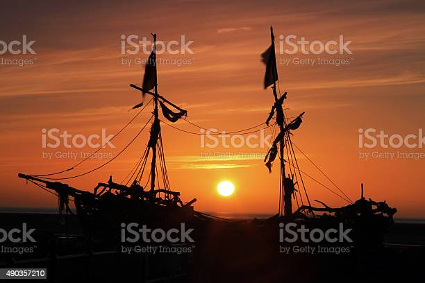 Nautical Sunset Stock Photo - Download Image Now