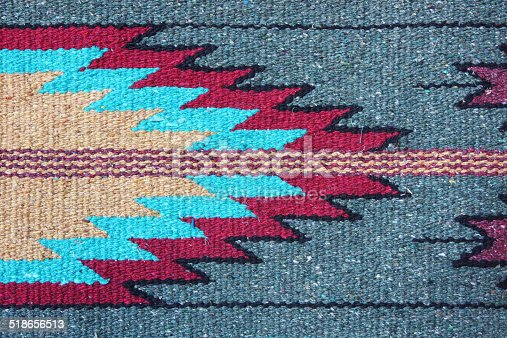 Coperta tessuto di tappeti navajo fotografie stock e for Semplici piani di coperta