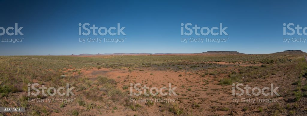 Navajo County between Holbrook and Indian Wells stock photo
