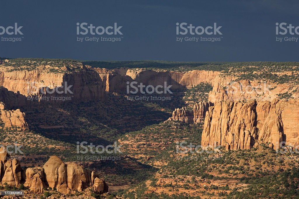 Navajo land royalty-free stock photo