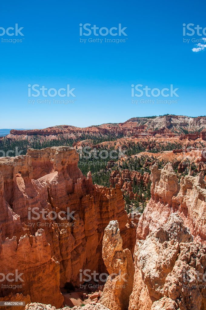 Navajo Loop Trail, Bryce Canyon National Park, Utah, United States stock photo