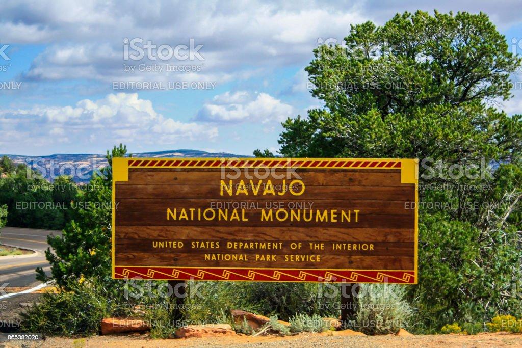 Navajo National Monument - 2008 stock photo