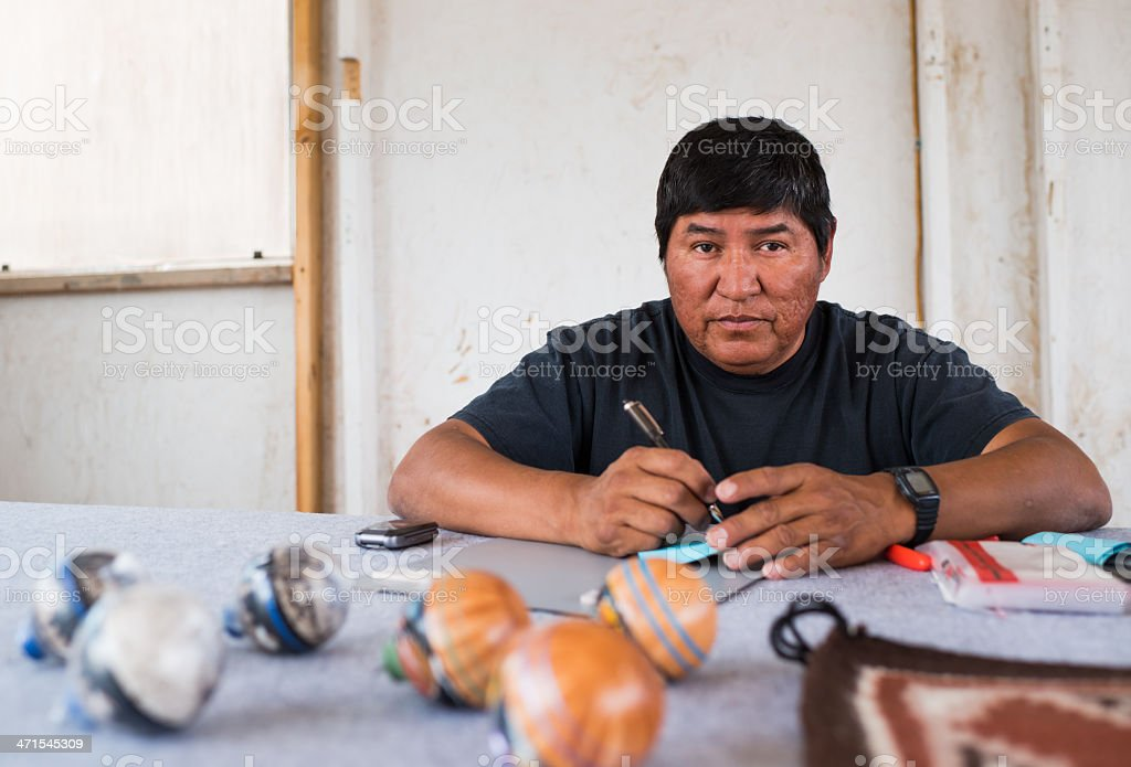 Navajo stock photo