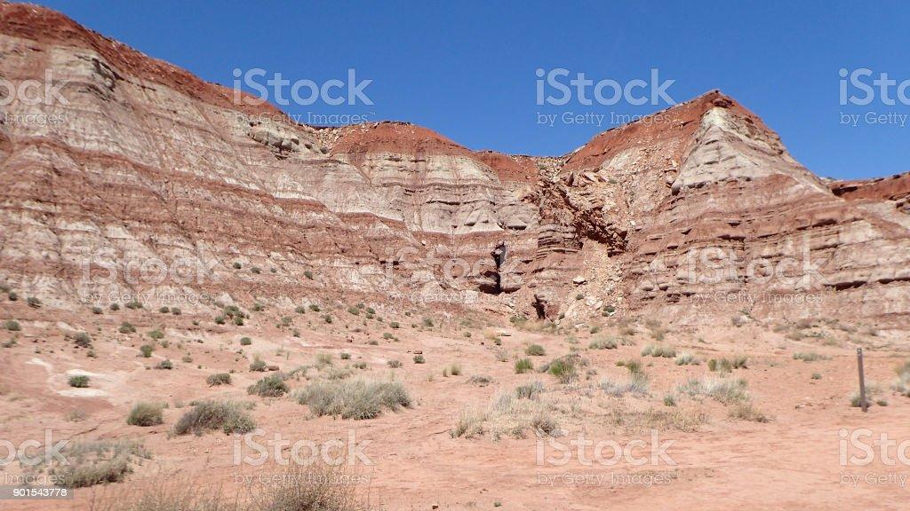 Navajo Sandstone stock photo