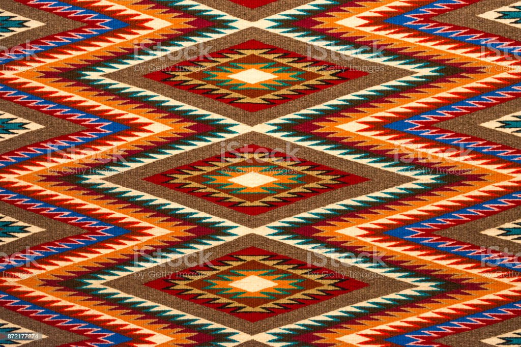 Navajo Textile royalty-free stock photo