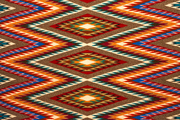 Navajo Textile stock photo