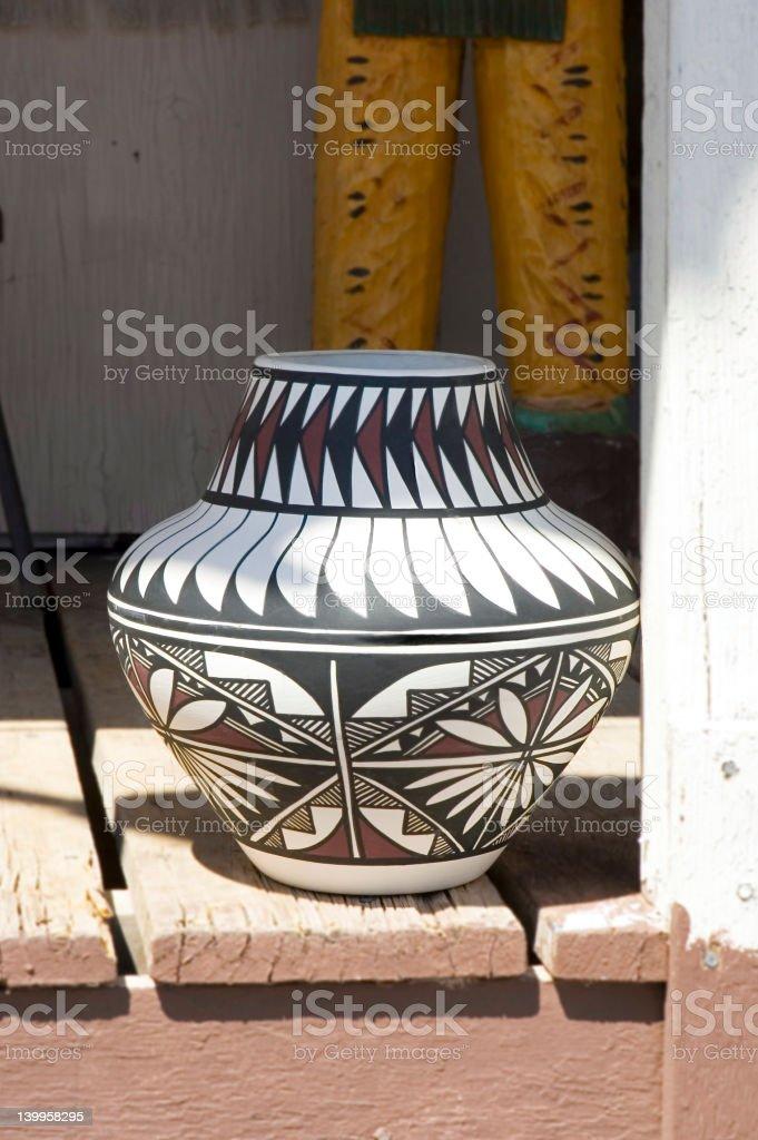 Navajos Pottery royalty-free stock photo
