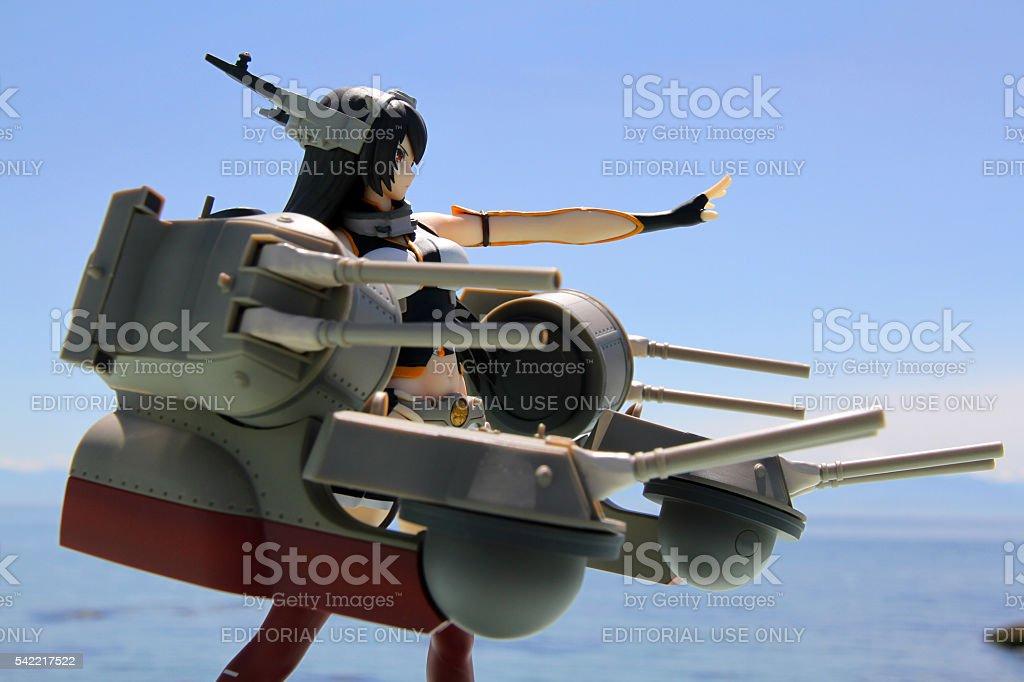 Naval Attack stock photo