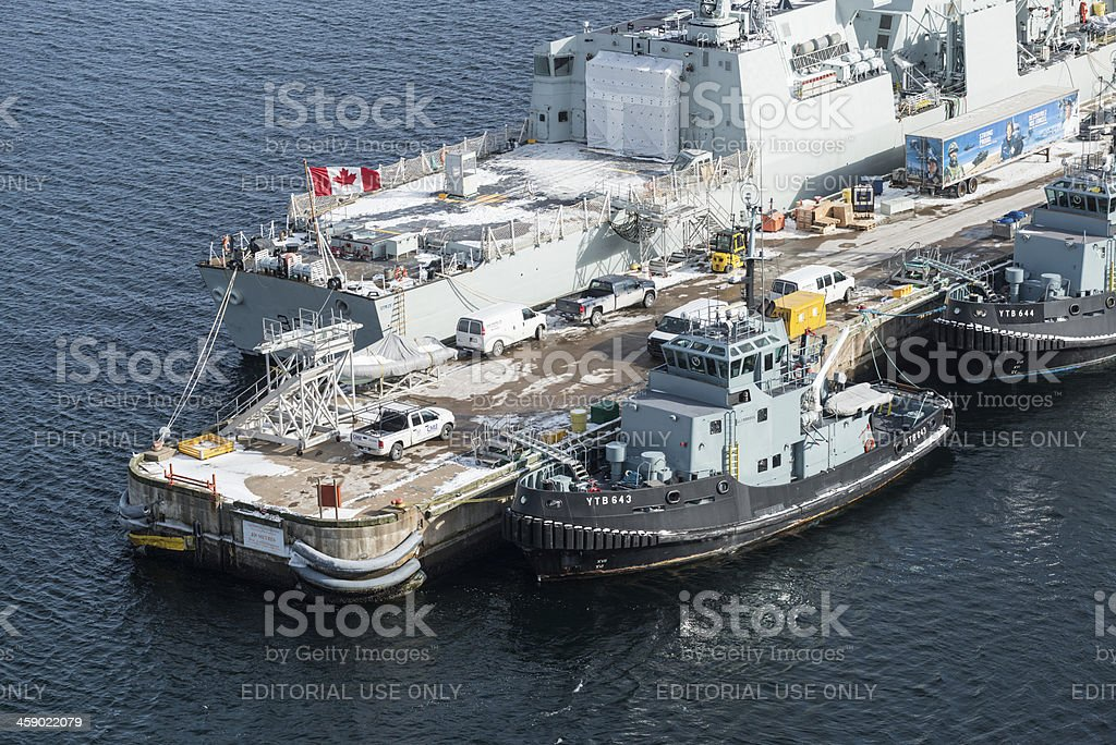 Naval Dockyard stock photo